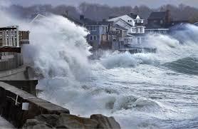 Flooding coastal