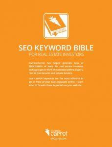 SEO Keyword Bible for Investors - Freebie