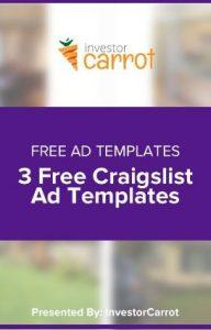 Craig's list templates