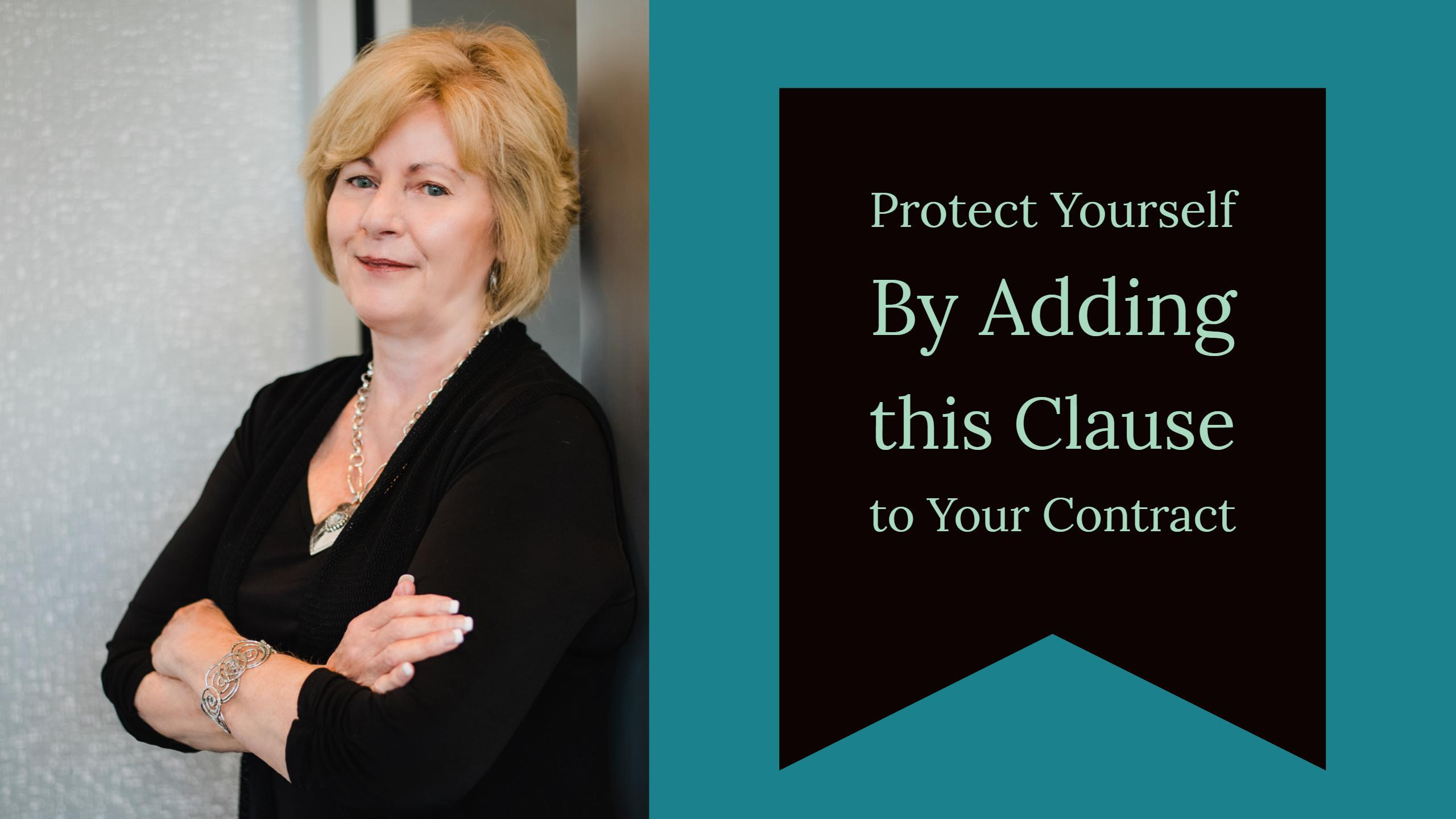 Sales and Purchase Contracts: Protect Yourself with This Clause