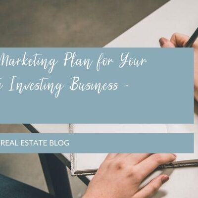 Writing a Marketing Plan for Your Real Estate Investing Business - Workshop